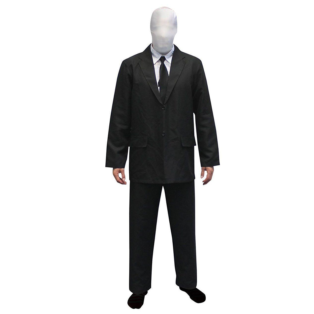 slenderman adult costume morphsuit | top halloween costumes