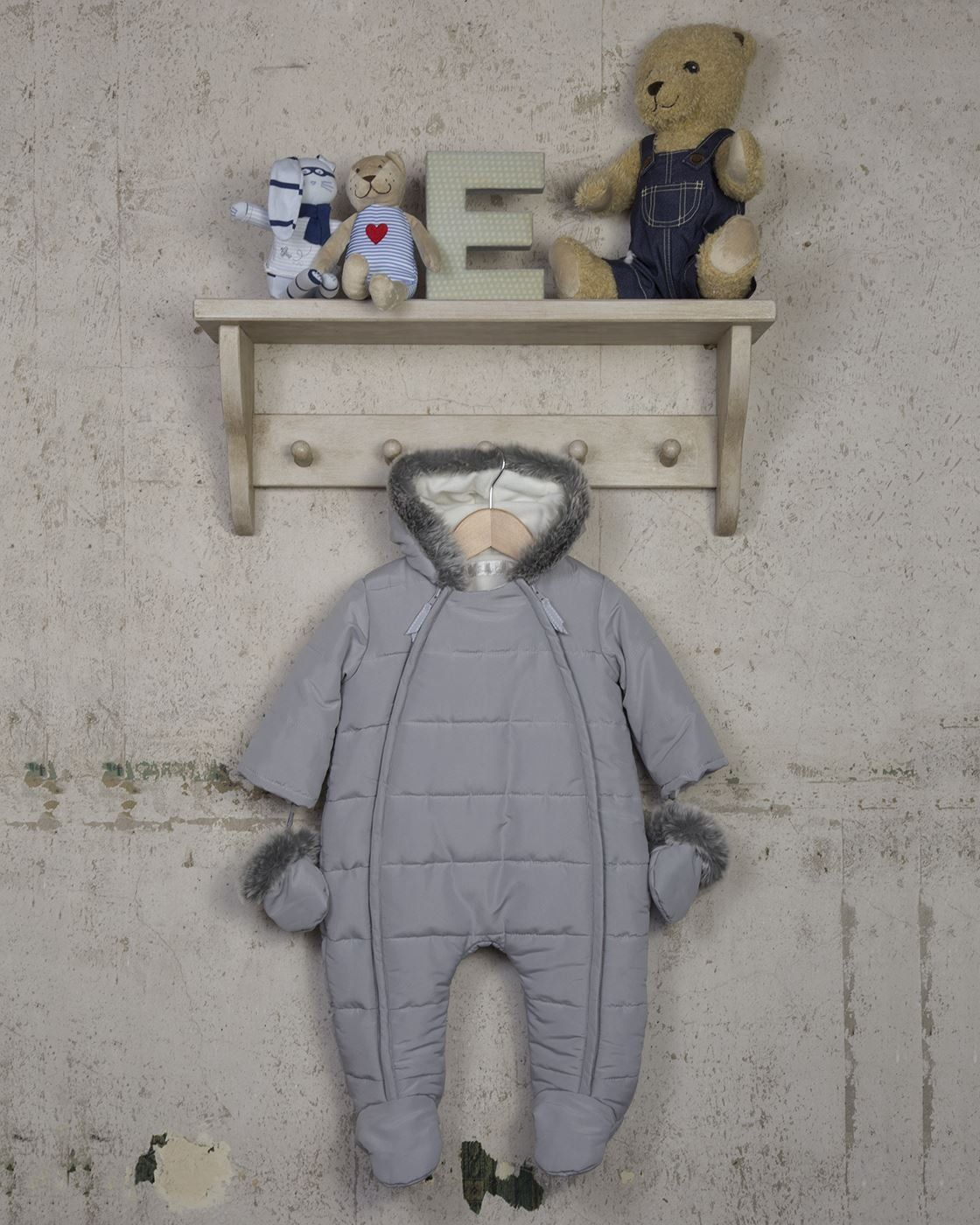 bd995af32 The Essential One Unisex Baby Snowsuit 36 Months Grey   Click the ...