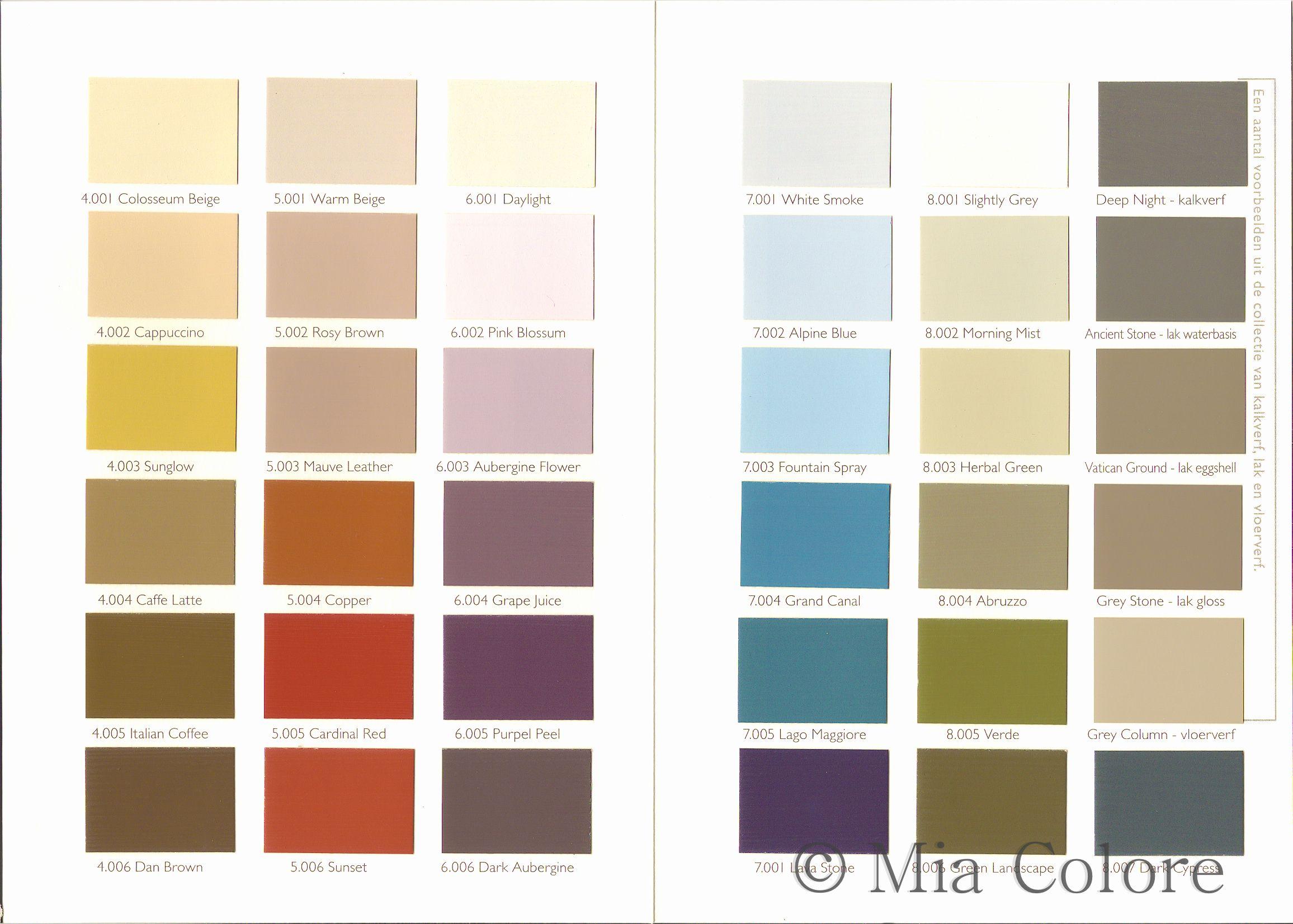 mia colore kleuren deel 1 kalkverf en krijtverf mia