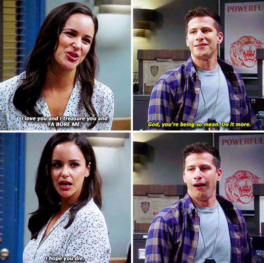 """17 Times Jake And Amy From """"Brooklyn Nine-Nine"""" Were A More Iconic Couple Than Jim And Pam"""