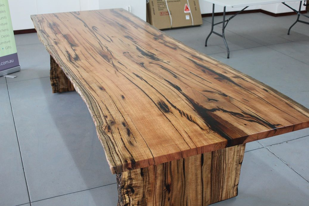 Marri Slab Dining Table Arcadian Concepts Specialising