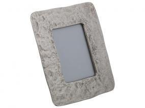 Portafotos aluminio plata