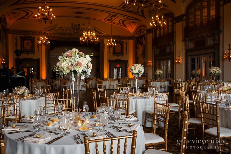 Stunning ballroom with vaulted ceilings at the tudor arms hotel in stunning ballroom with vaulted ceilings at the tudor arms hotel in cleveland for a wedding junglespirit Image collections