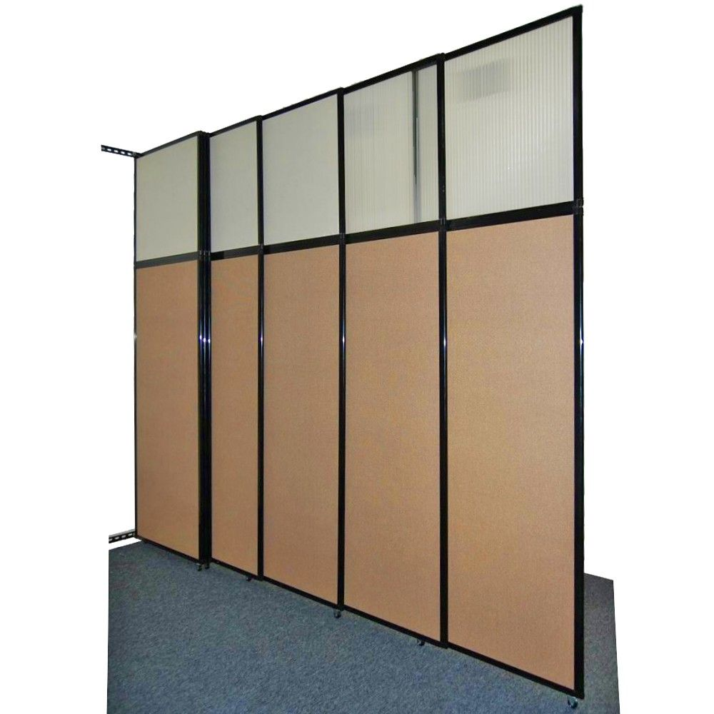 The tall wall sliding wall partition offers an excellent Office partition walls with doors