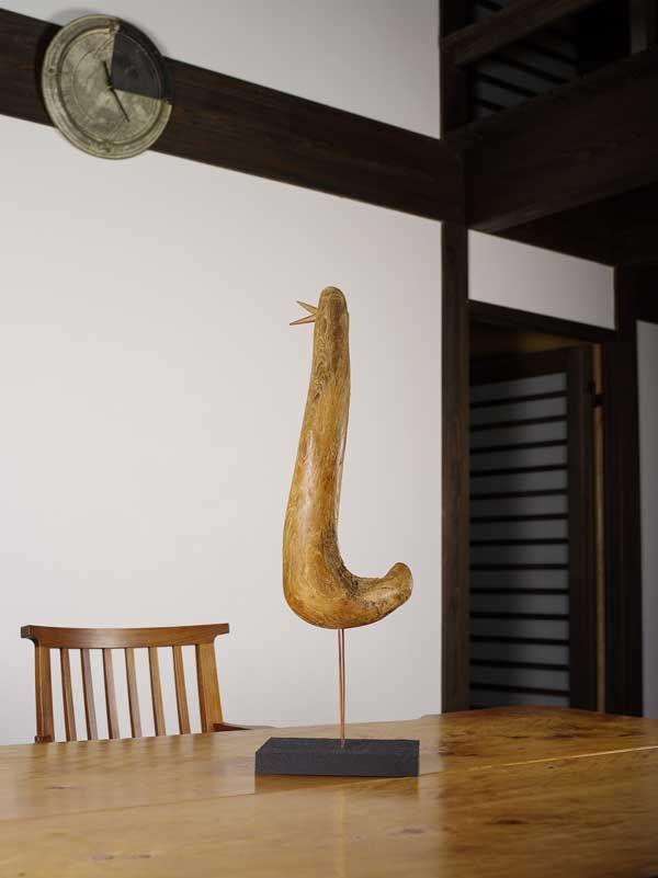 2016-流木の鳥ー7  ★  #流木の鳥 #流木オブジェ #流木 #流木アート #屋久島アート #インテリア #Driftwood Art #Interior