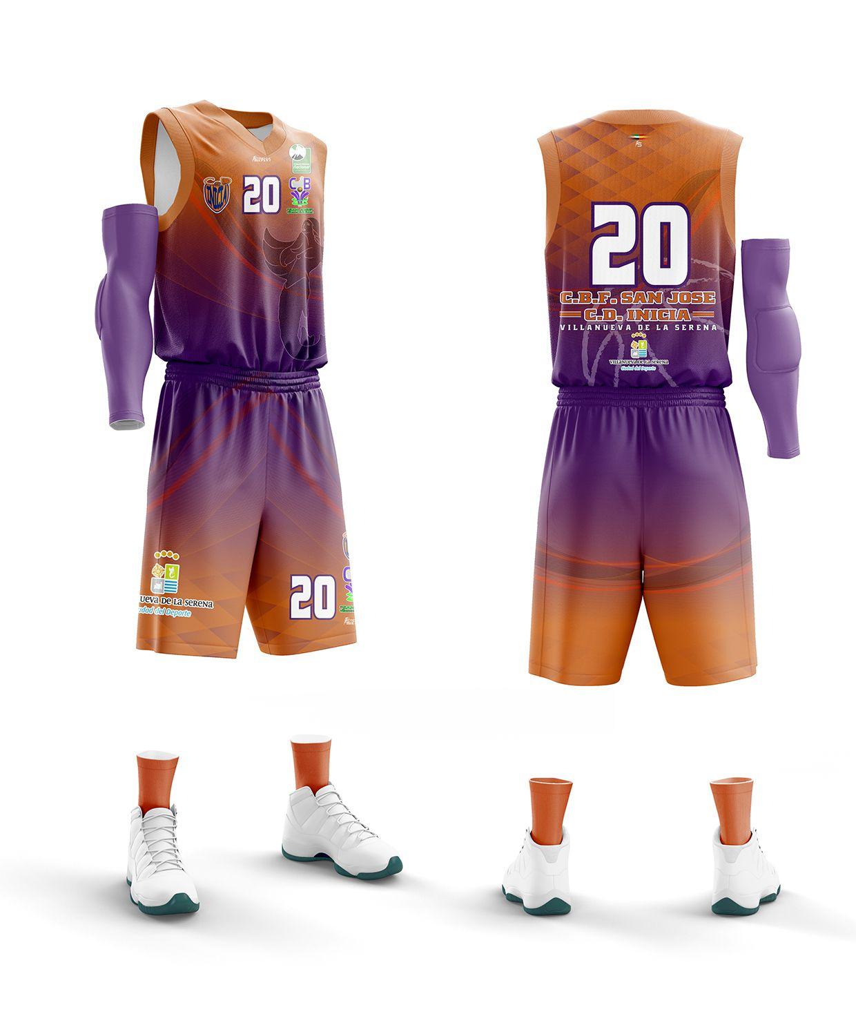 Basketball uniforms design image by STRENIA SPORT on