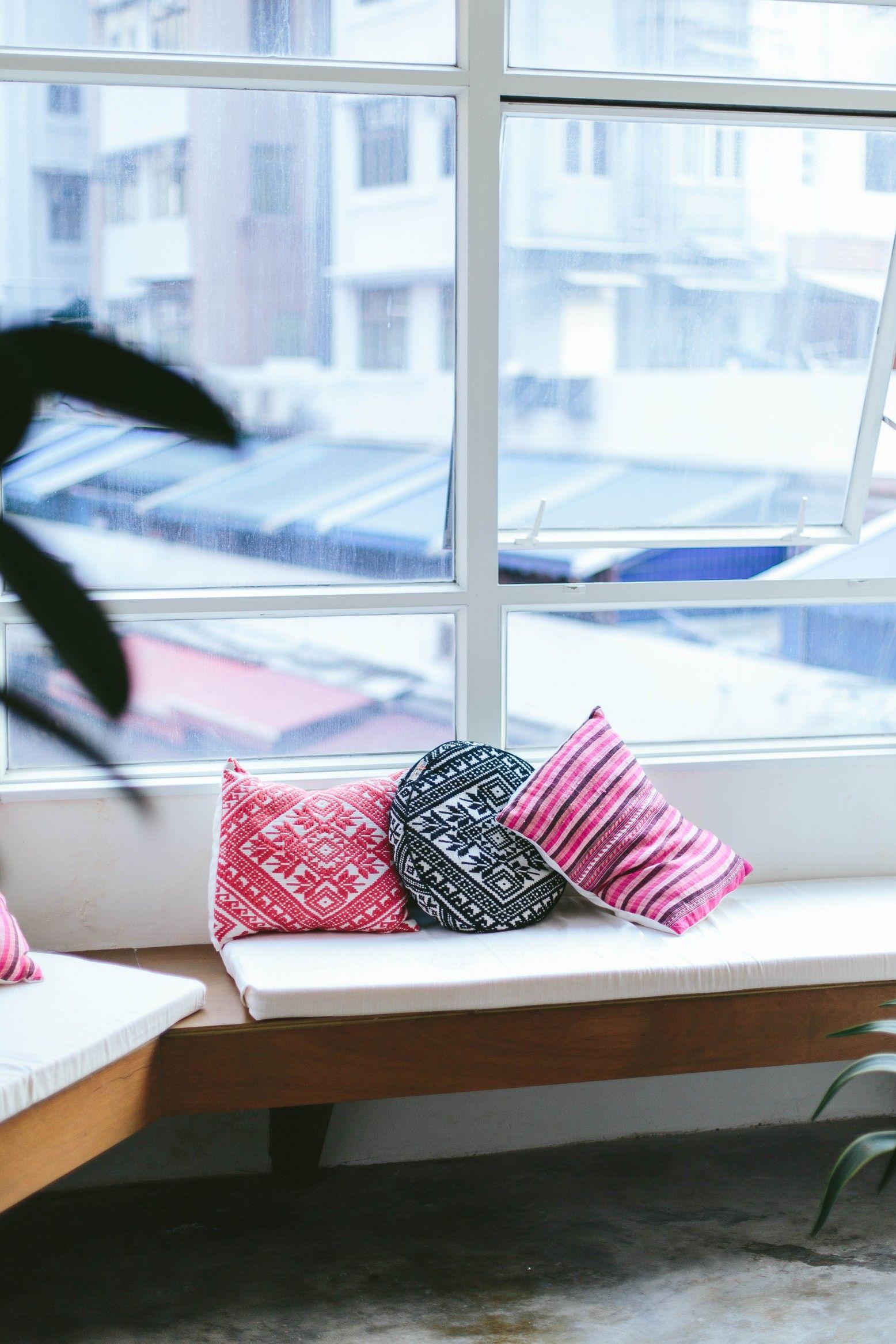 DIY NoSew Bench Seat Cushions Seat cushions, Cushions