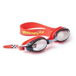 Vroom! Racecar Red Swim Goggles by Bling2o
