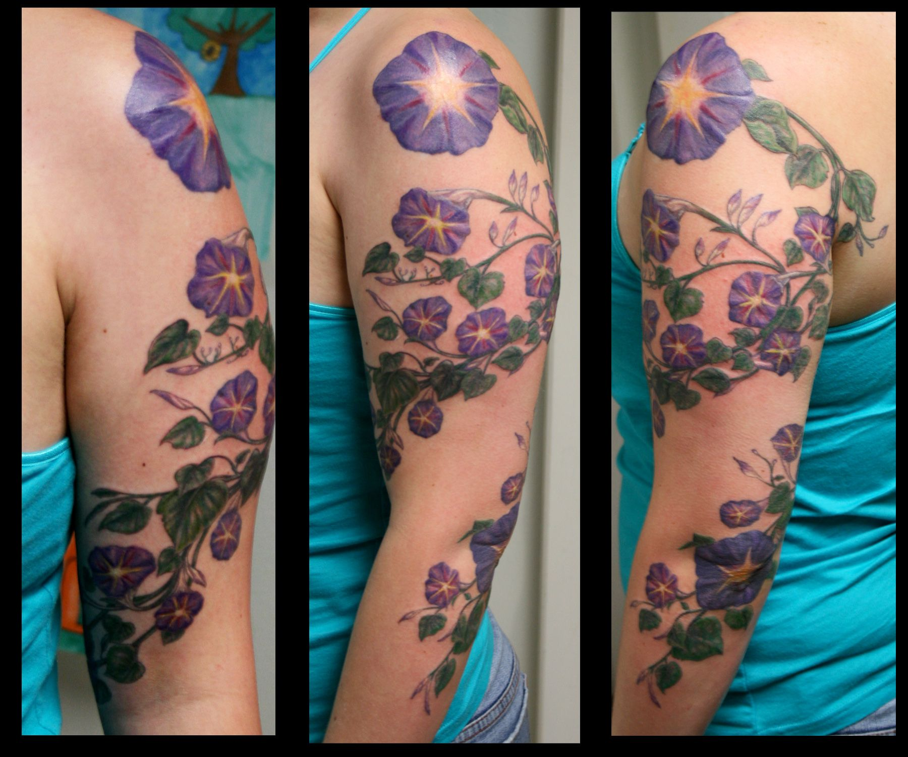 Morning Glory tattoo (With images) Inspirational tattoos