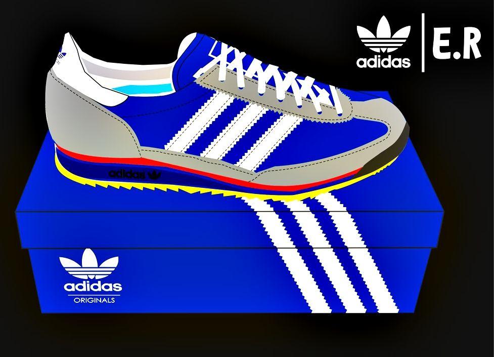 Vector Design Adidas Sl 72