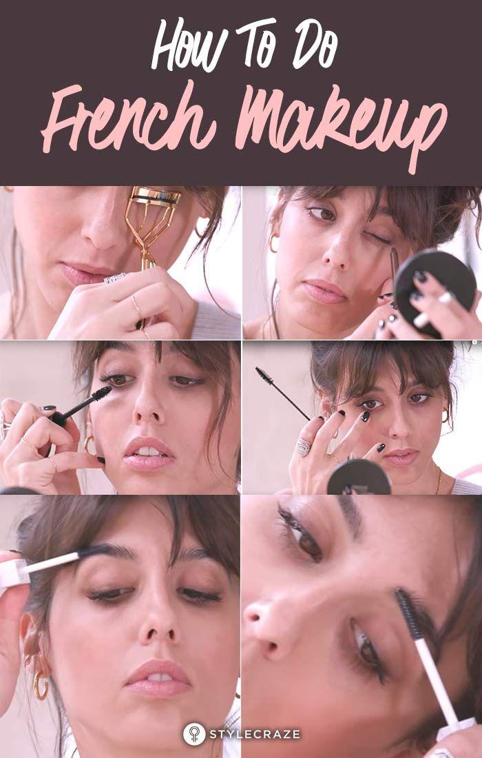 Wie man Französisch Make-up   – About face…and hair!