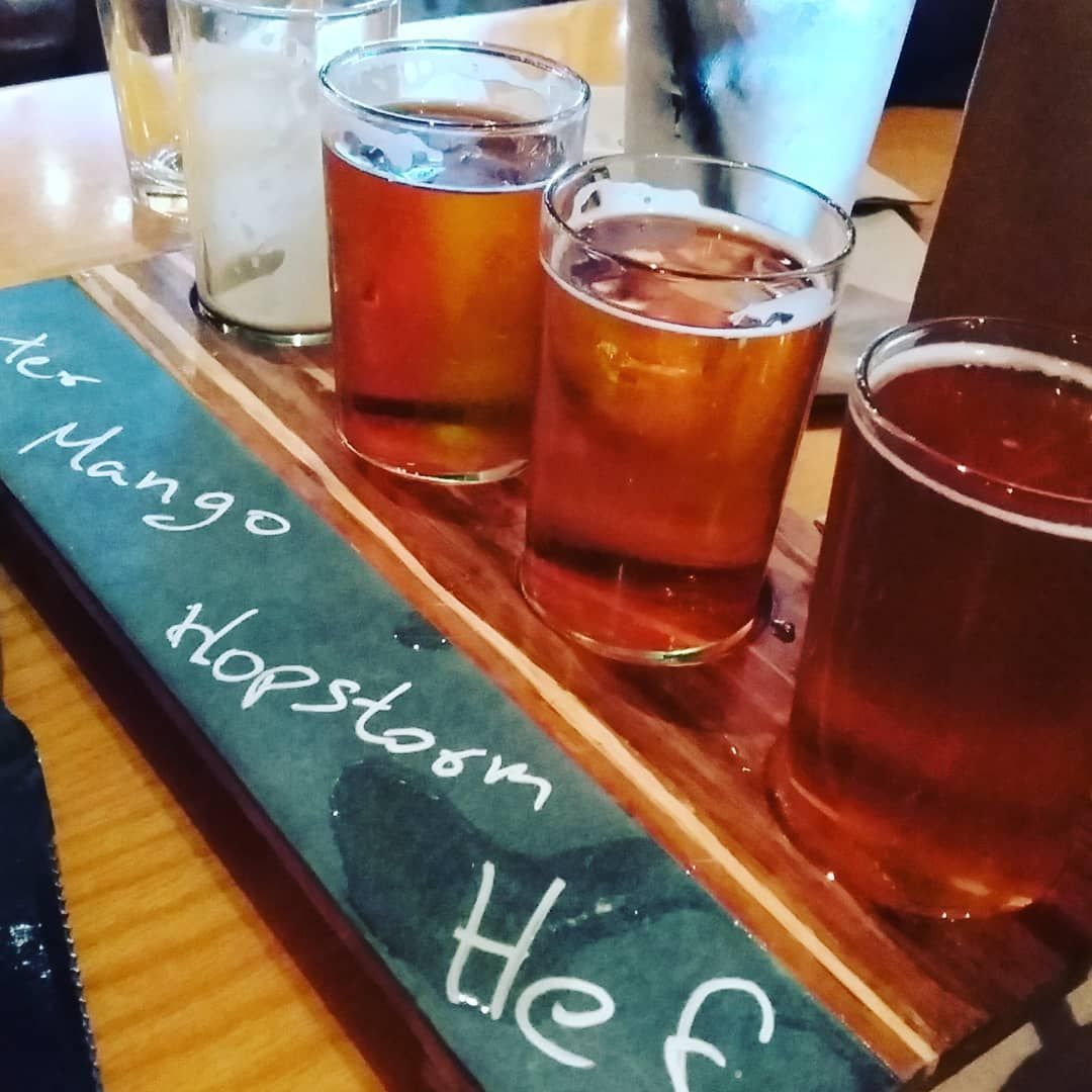 Just a little extended fatherus day outing beers beerlovers ipas