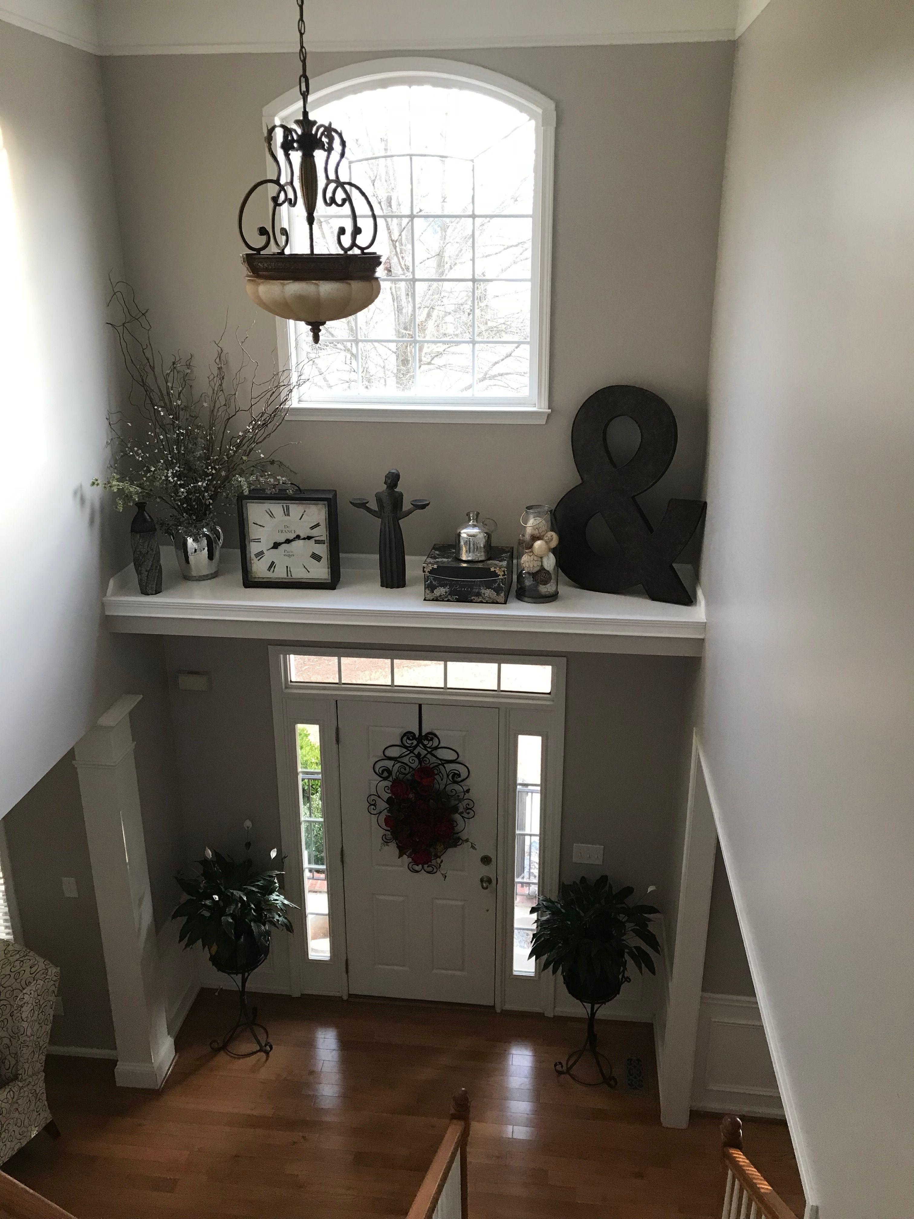 Home Remodel Ideas Doorway Decor Ledge Decor Niche Decor Living room vaulted ceiling ledge