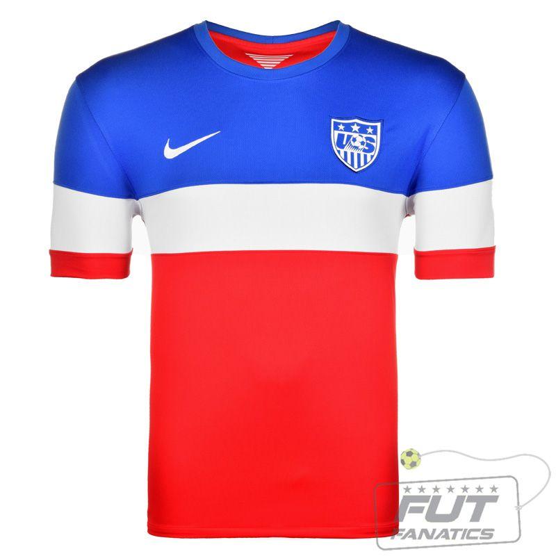 1c15e05375 Camisa Nike USA Away 2014