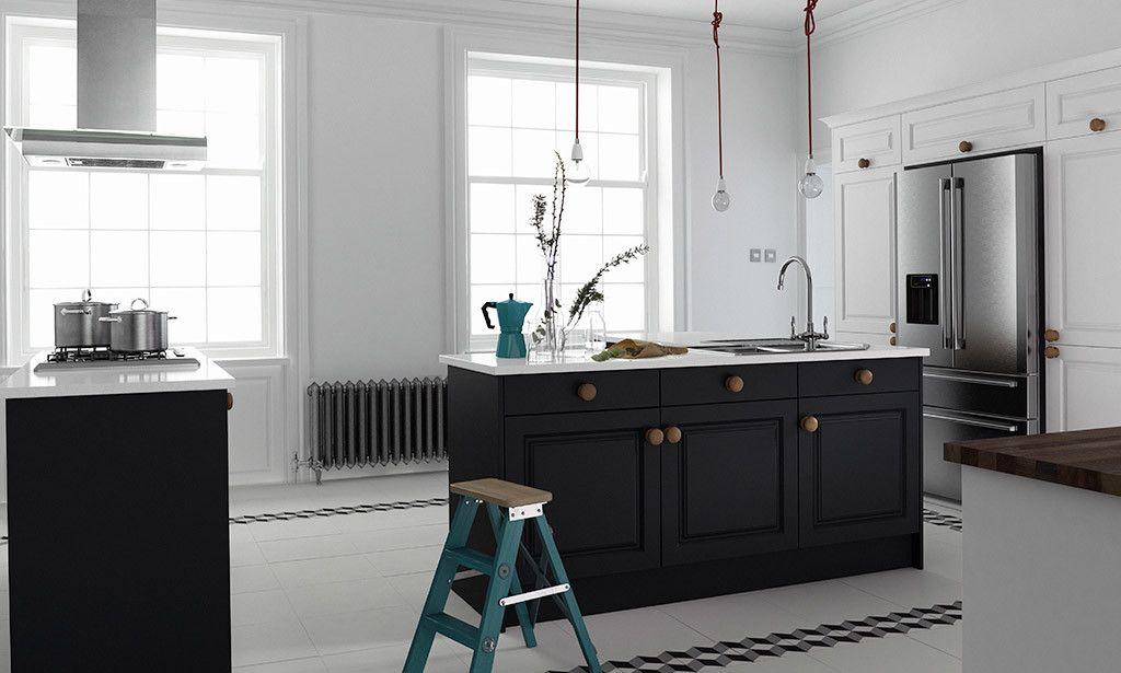 Wren Kitchens - Linda Barker Sculptured Kitchen in Super White and ...