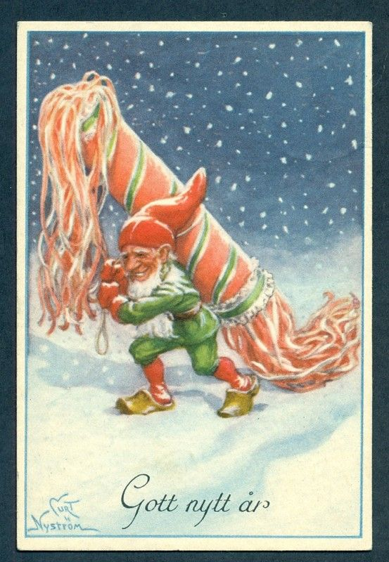 Happy New Year Sweden Swedish Christmas, Scandinavian Christmas, Merry  Little Christmas, Christmas Elf