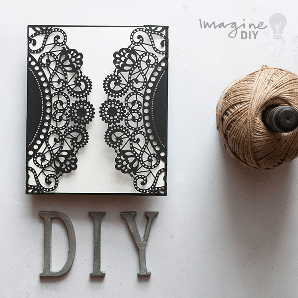 Diy laser cut wedding invitations blank laser cut invitation to blank laser cut invitation to decorate yourself make your own wedding stationery supplies uk junglespirit Images