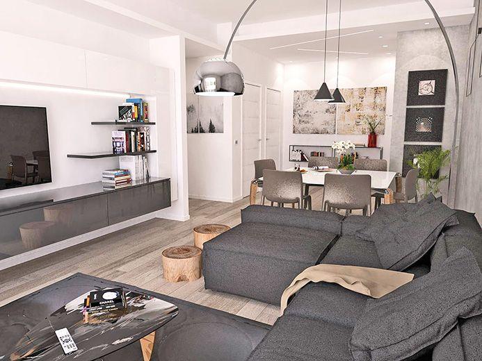 SORISOLE Appartamento quadrilocale di mq 115 dotato di 9
