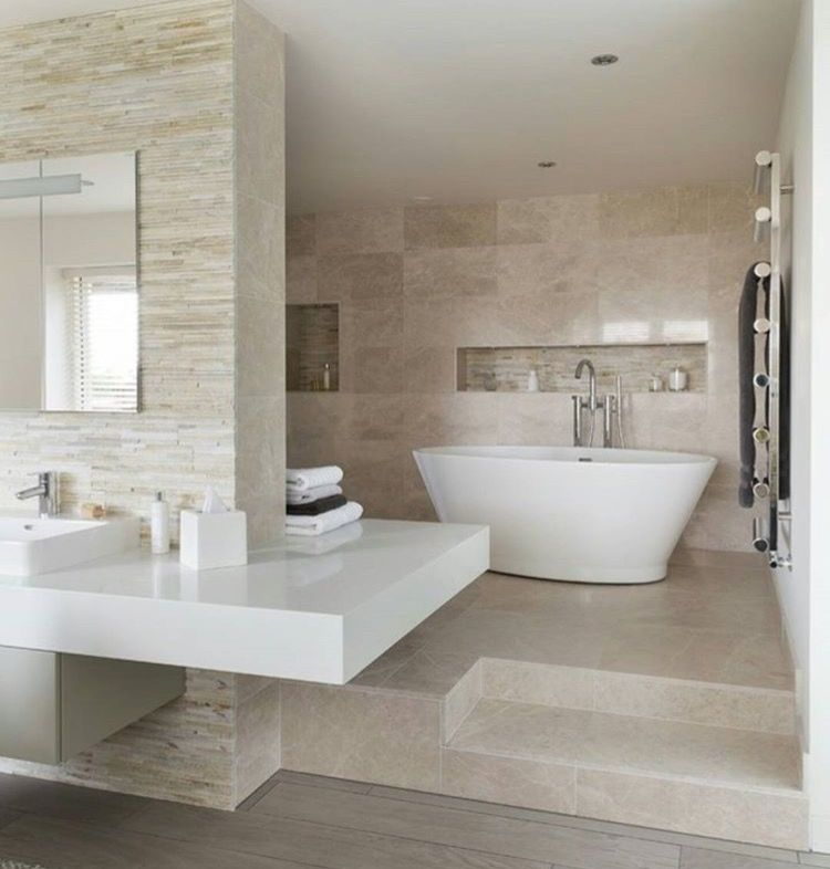 Gorgeous Contemporary Bathroom Scheme By Ripples. Bath: Chalice Minor By BC  Designs