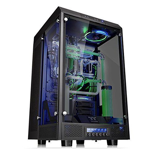 Deepcool Dukase Liquid Atx Chasis 240 Water Cooling System Led Lighting System Visible Fluid Flow Computer Case Computer Tower Computer Case Pc Cases