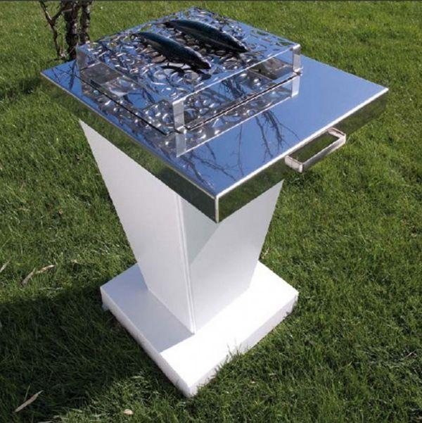 Die Weißen Alu Gartenmöbel Von Bysteel \u2013 Lounge Sets Mit   Gartenmobel  Alu Holz