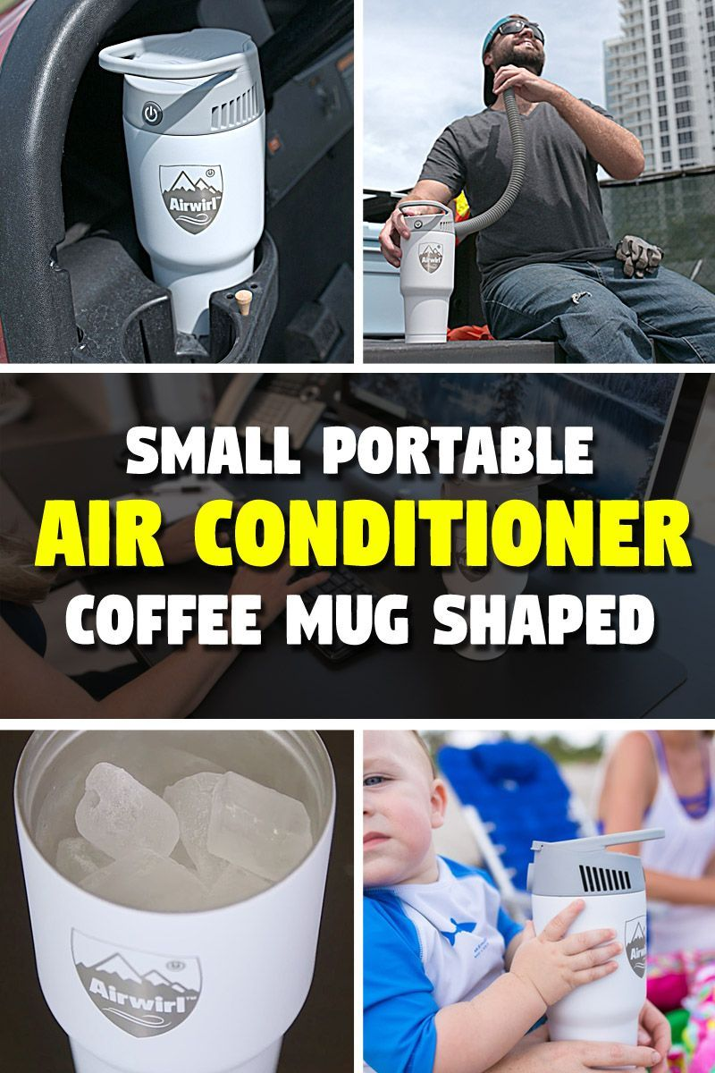 The tiny portable air conditioner fits in pretty much any