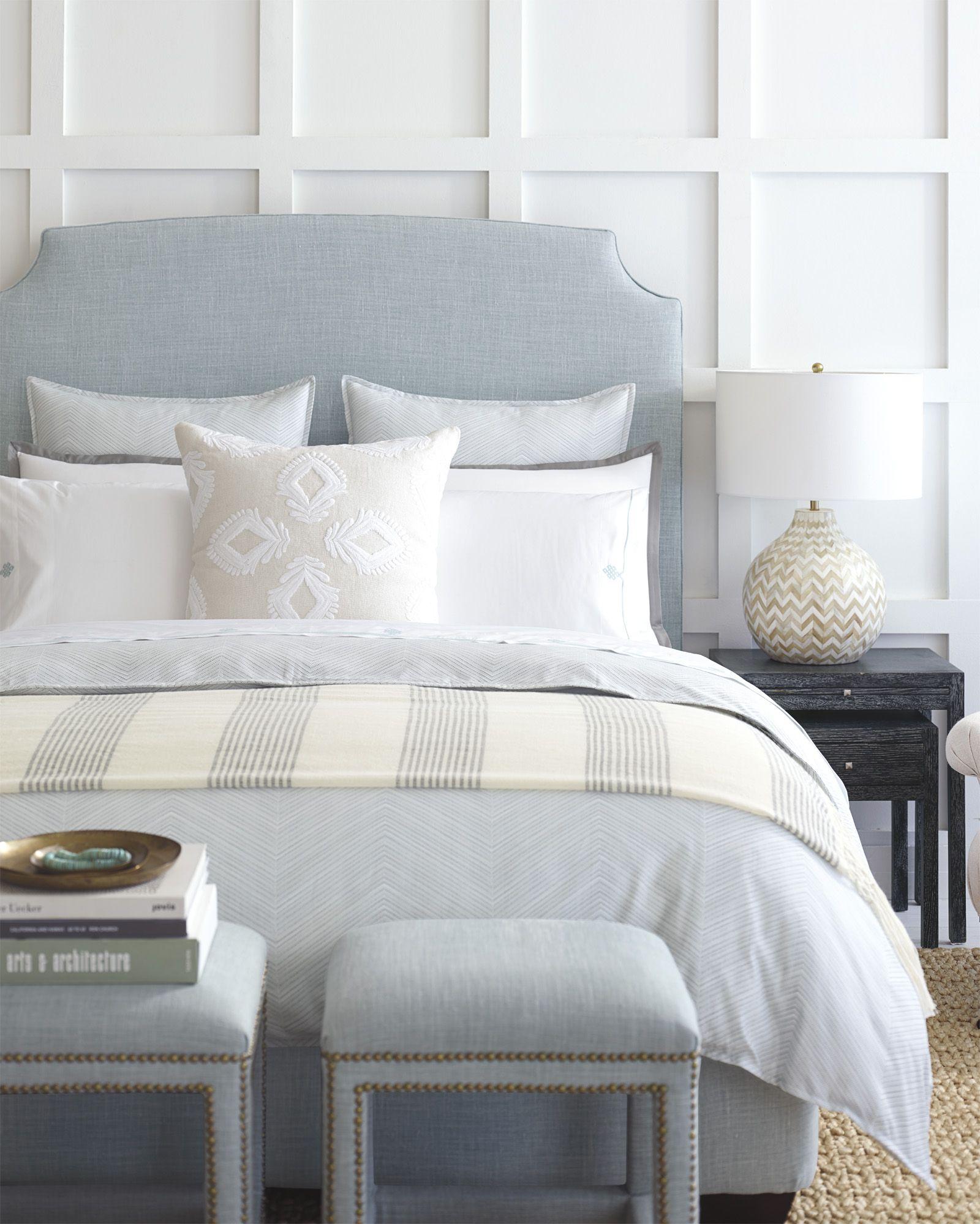 Neutral Bedding Inspiration | Gramercy Duvet Cover Via Serena U0026 Lily
