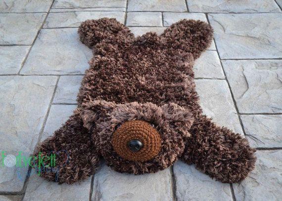 Crochet Pattern For Faux Bear Skin