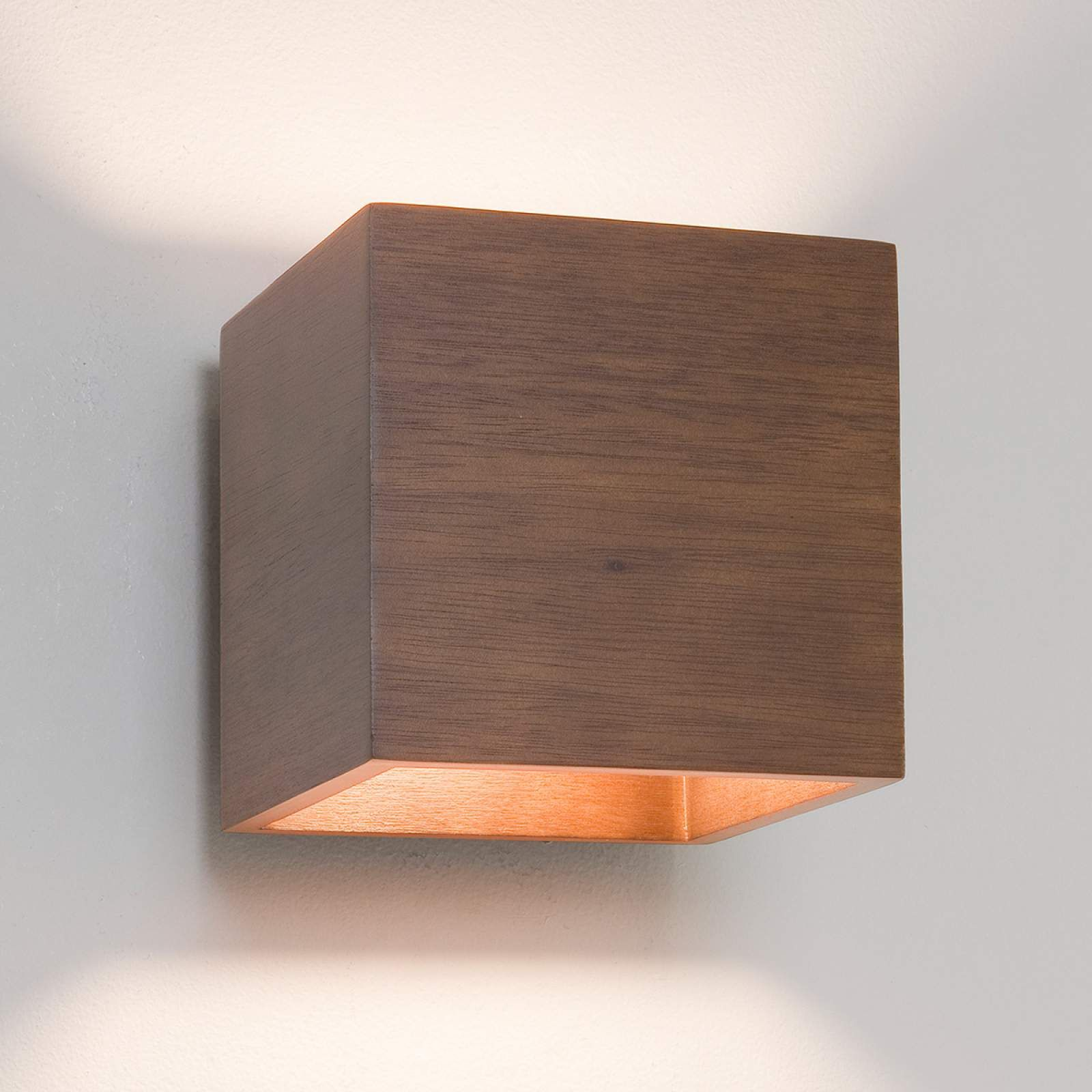 Astro Cremona Wurfelformige Holz Wandleuchte Wandleuchte Treppenhaus Beleuchtung Lampen Treppenhaus