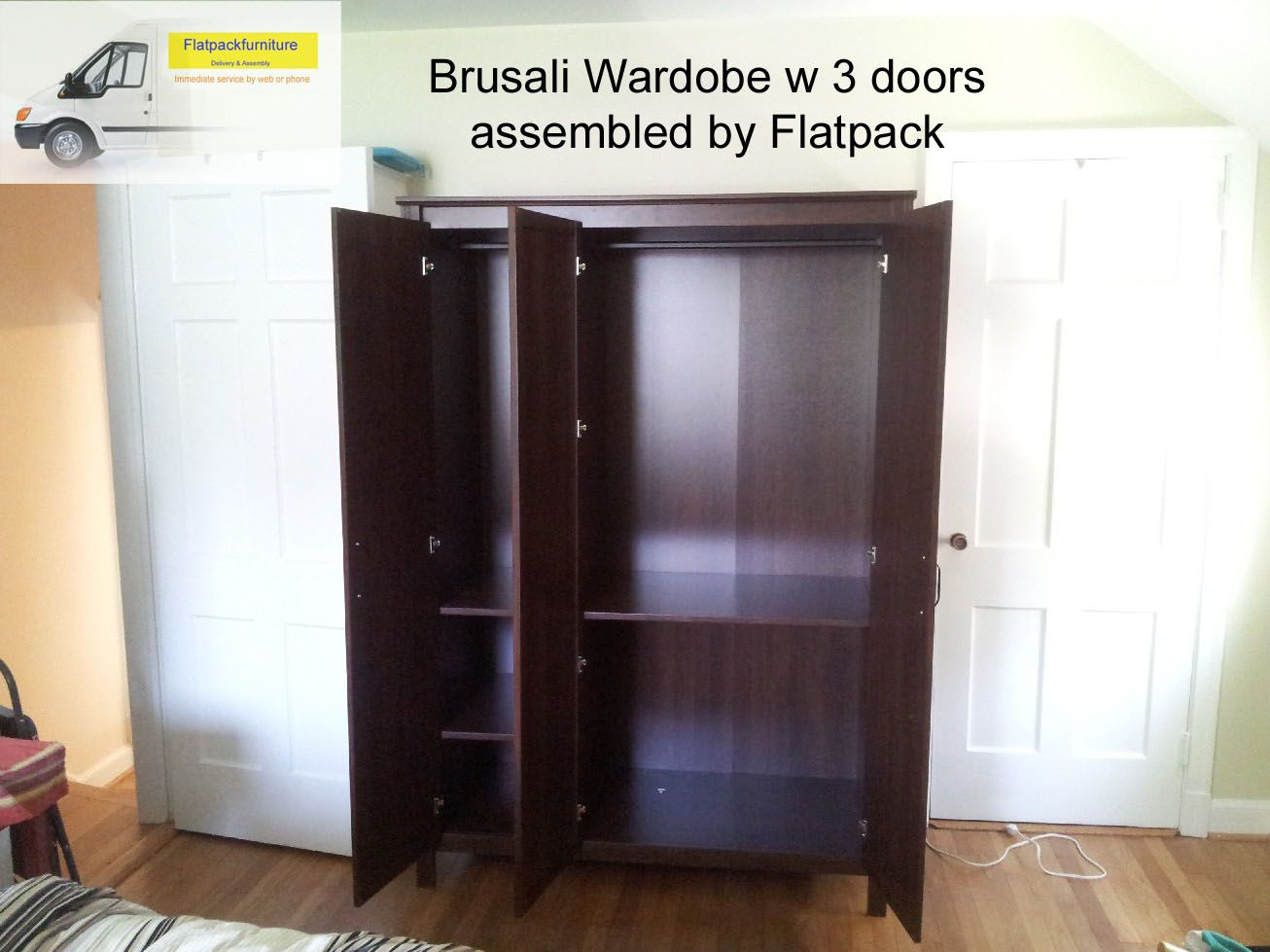 Brusali Wardrobe Ikea Brusali Wardrobe With 3 Doors Article Number 402 501 67 The