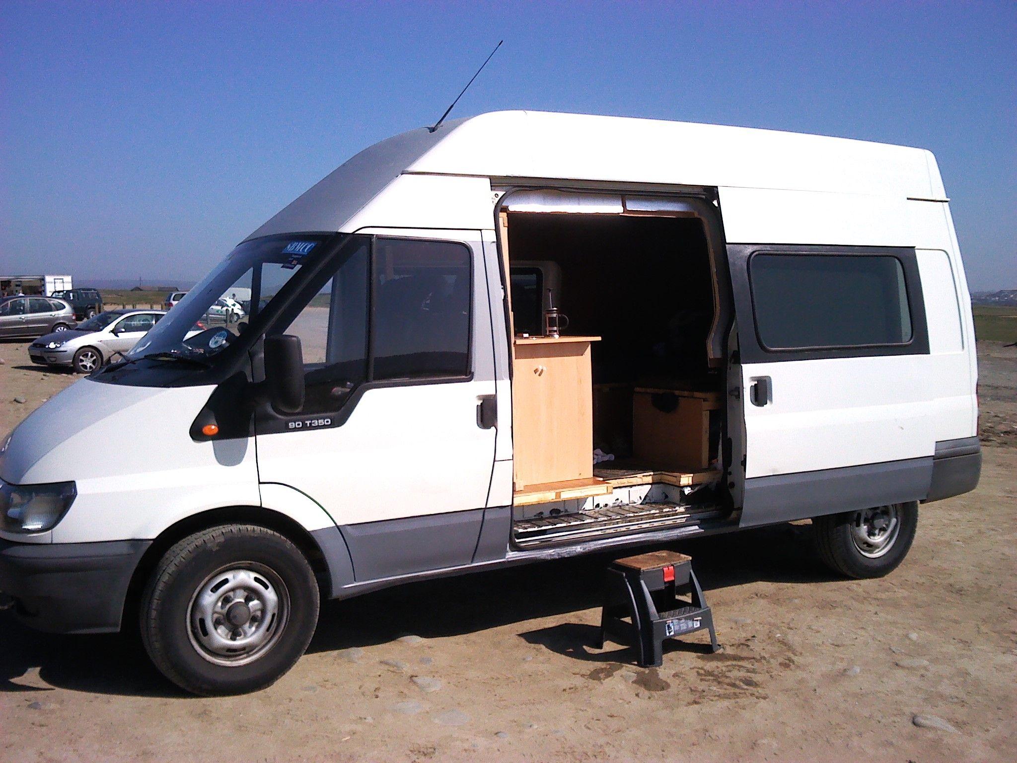 ford transit camper aa van dwelling pinterest camper motorhome and camper van. Black Bedroom Furniture Sets. Home Design Ideas