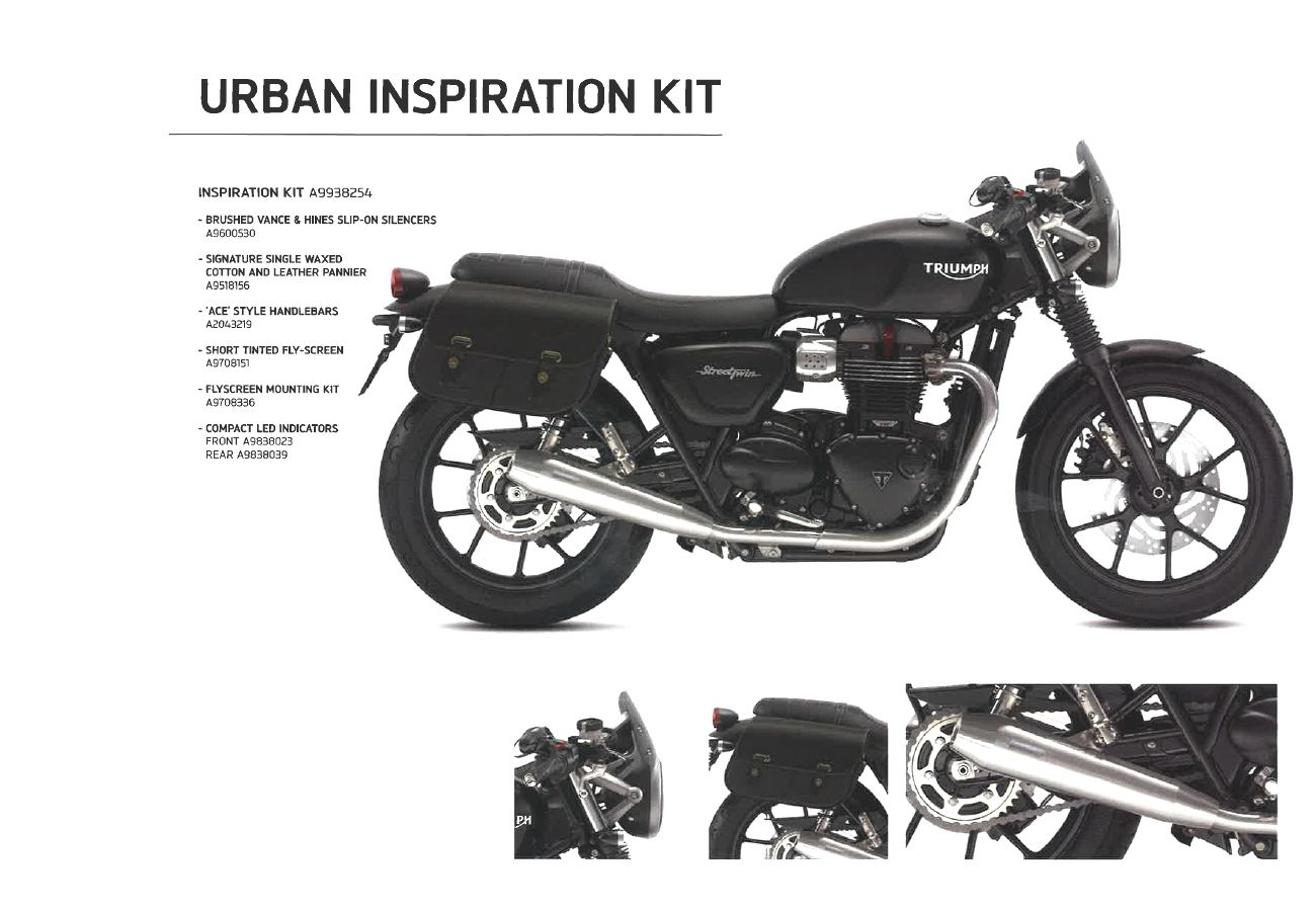 Triumph Custom Inspiration Kits Pinterest Wiring Harness For 1971 Motorcycle The Urban Kit New Street Twin