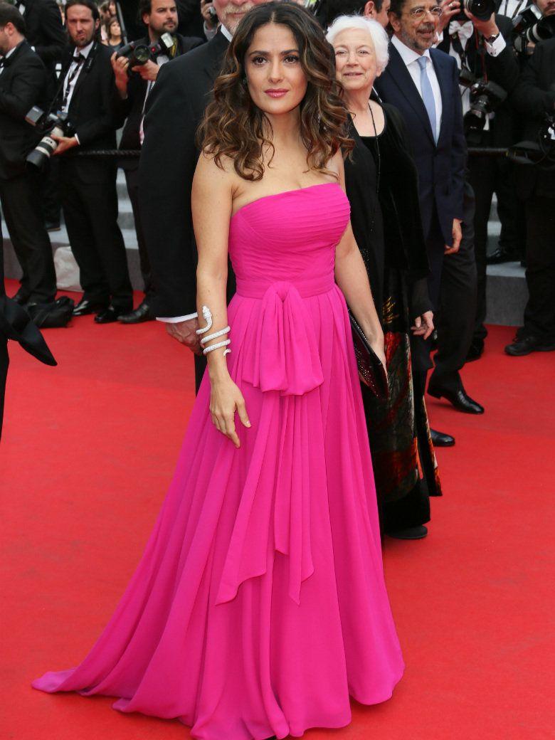 Looks du jour #Cannes2014 : Salma, Jessica et Frédérique   Festival ...