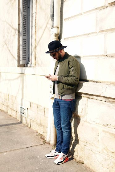 fe8516a6bc Lafayette Hat, Six Pack Bombers, Lilaboyco Sweat, Pull & Bear Jean, Nike Airmax  90 Infrared Hyperfuse | Airmax in 2019 | Fashion, Mens fashion, Hats