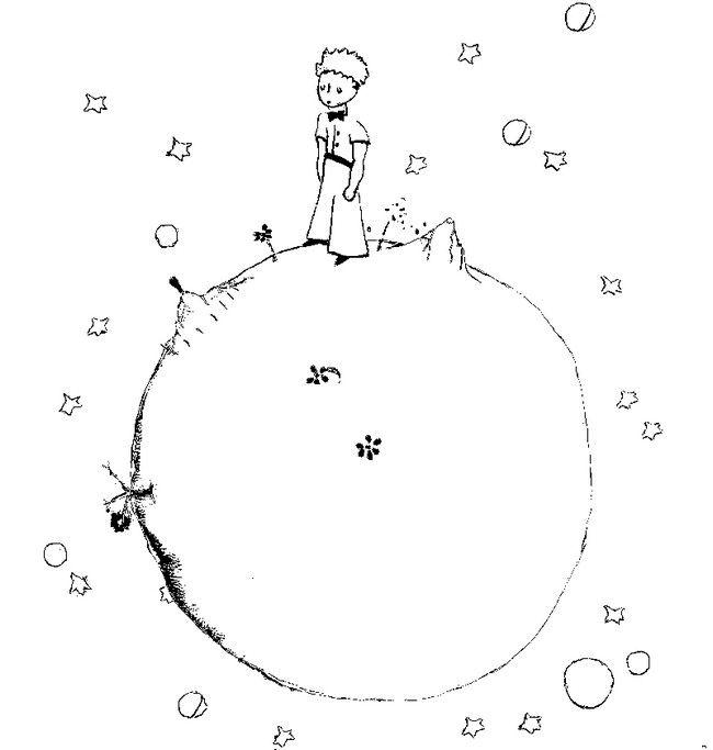 Pequeno Principe Desenhos Moldes E Riscos Pequeno Principe