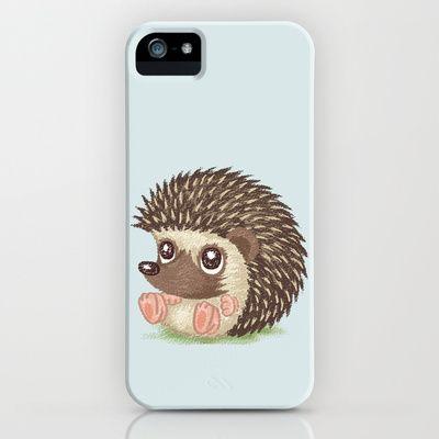 Hedgehog iPhone & iPod Case by Toru Sanogawa - $35.00