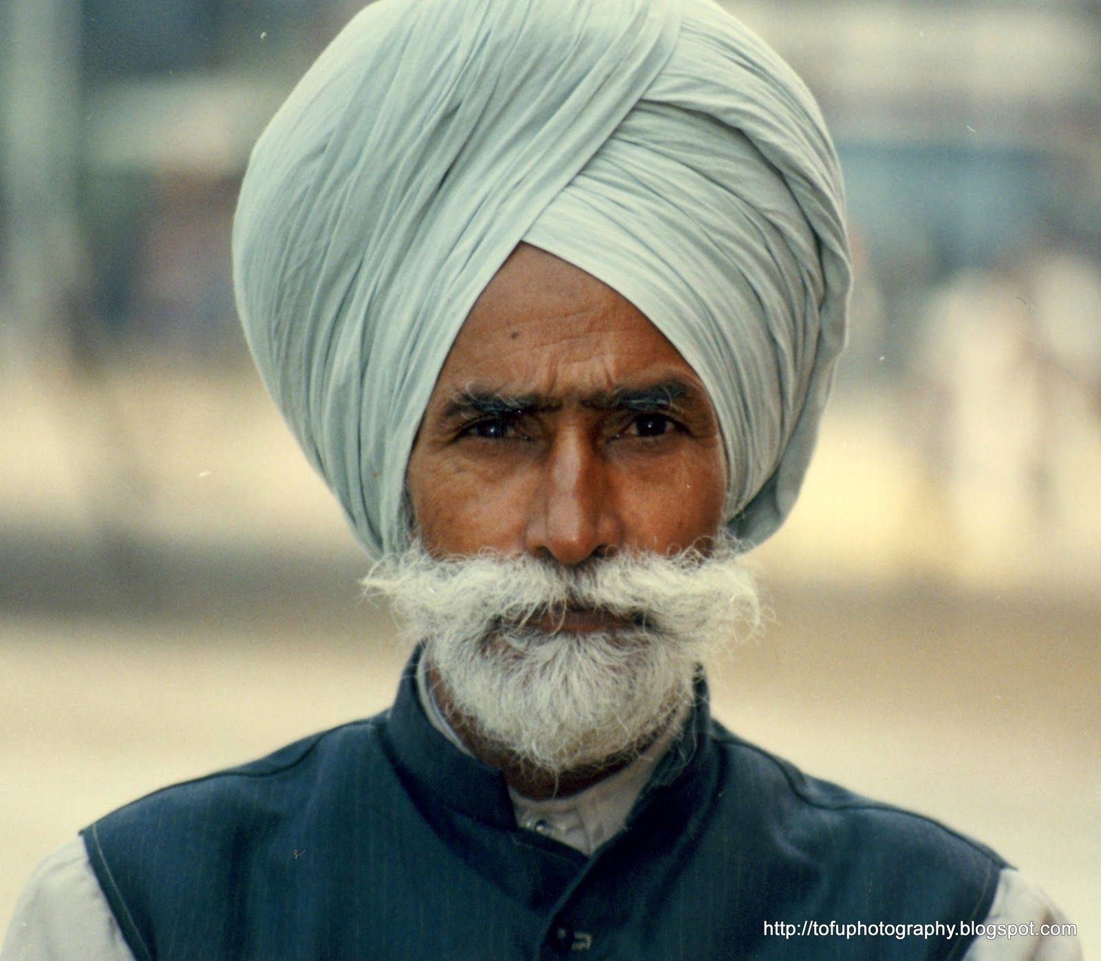 Turbans are worn by men in many communities in India ...