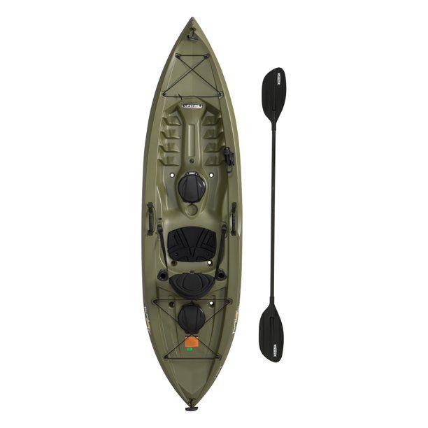 Lifetime Tamarack Angler 10 Ft Fishing Kayak Paddle Included