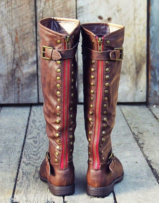 First Sight Fashion: Freestone Shopify Back Zip Long Boots | Botte ...