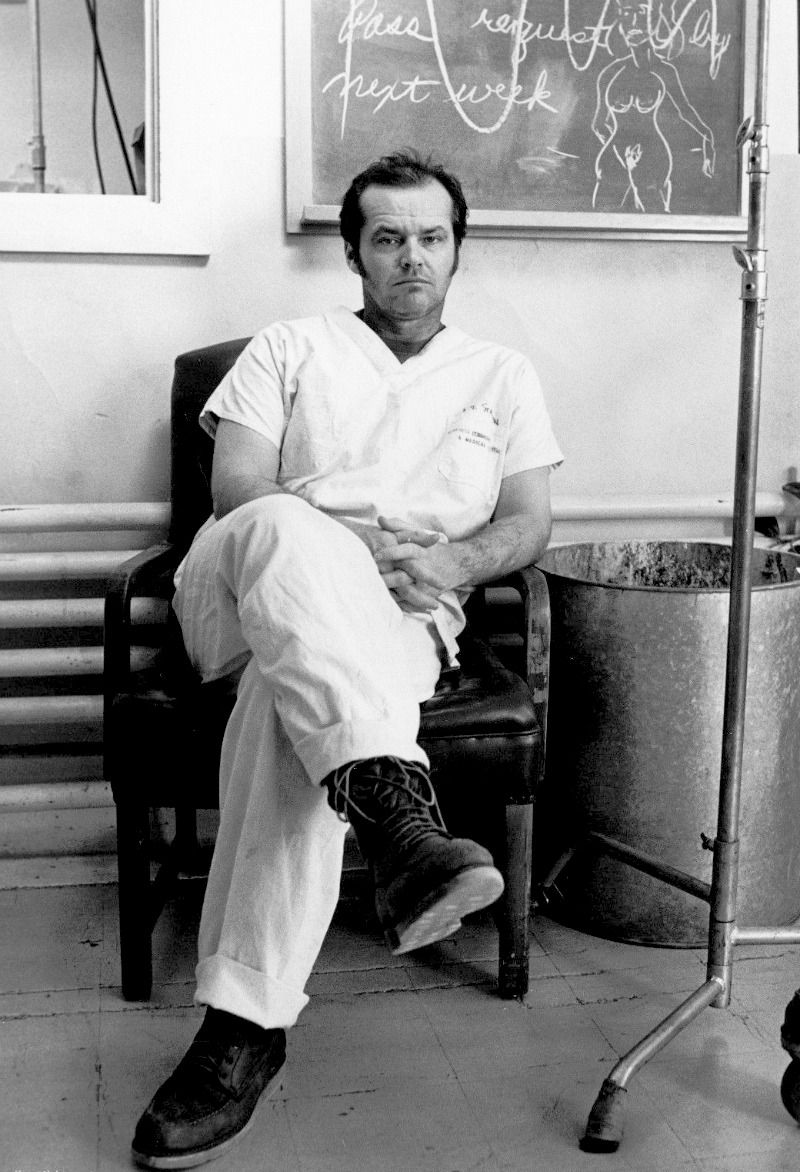 Jack Nicholson photographed on...