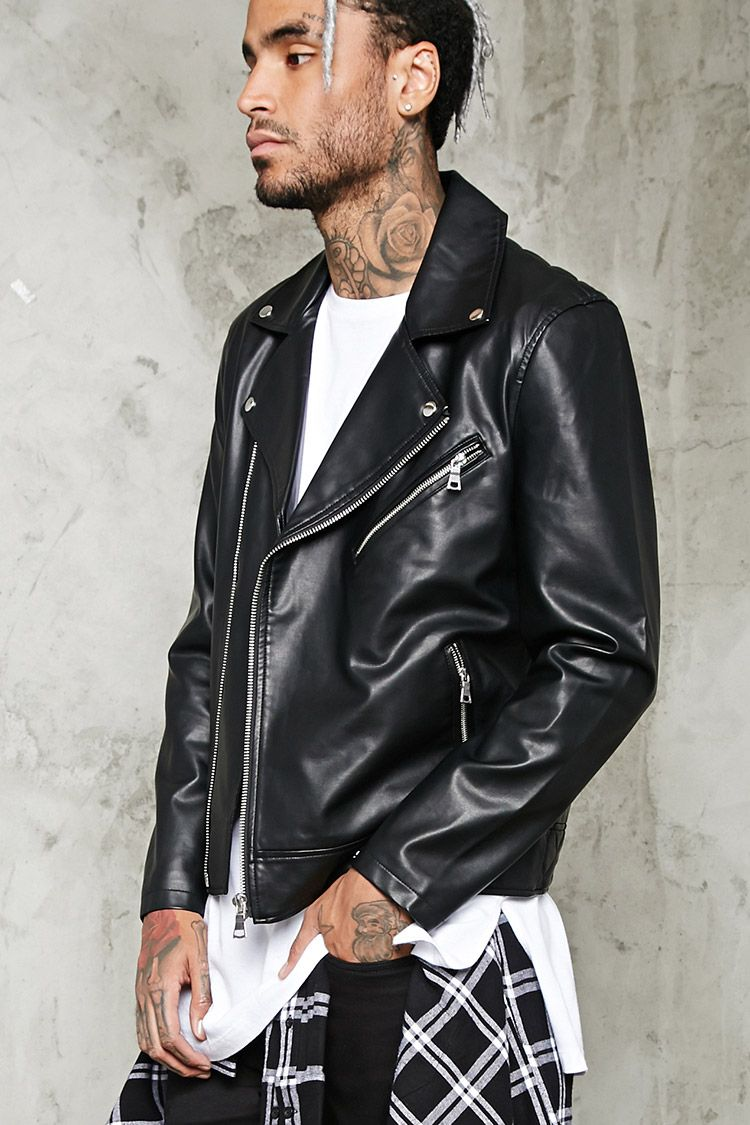 Quilted Back Moto Jacket Giftryapp Jackets Mens Leather Accessories Faux Leather Moto Jacket [ 1125 x 750 Pixel ]