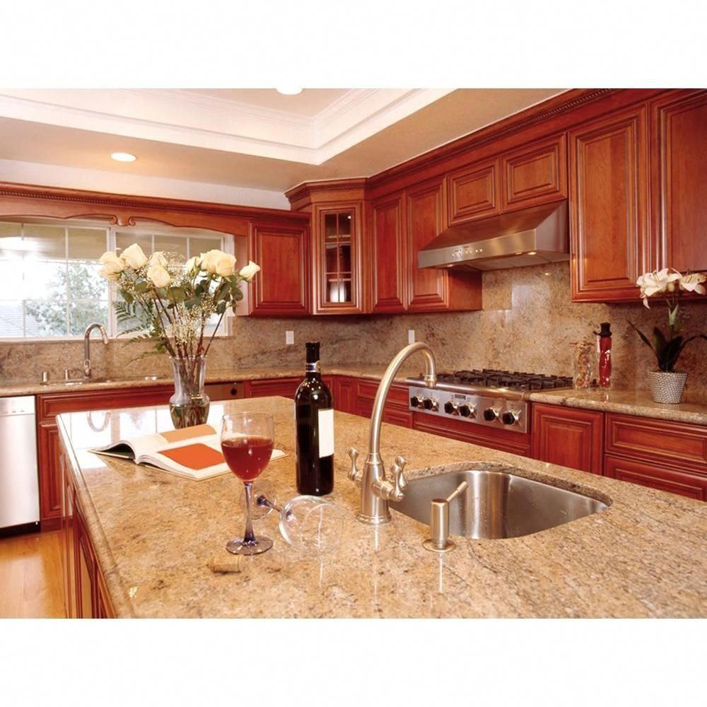 Stonemark 3 In X 3 In Granite Countertop Sample In Solaris Dt G749 Quartz Kitchen Countertops Granite Kitchen Wood Kitchen Cabinets