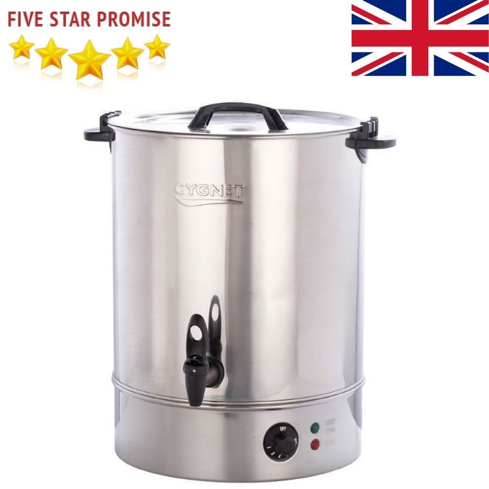 Burco 30L Commercial Hot Water Boiler Catering Tea Urn Stainless ...