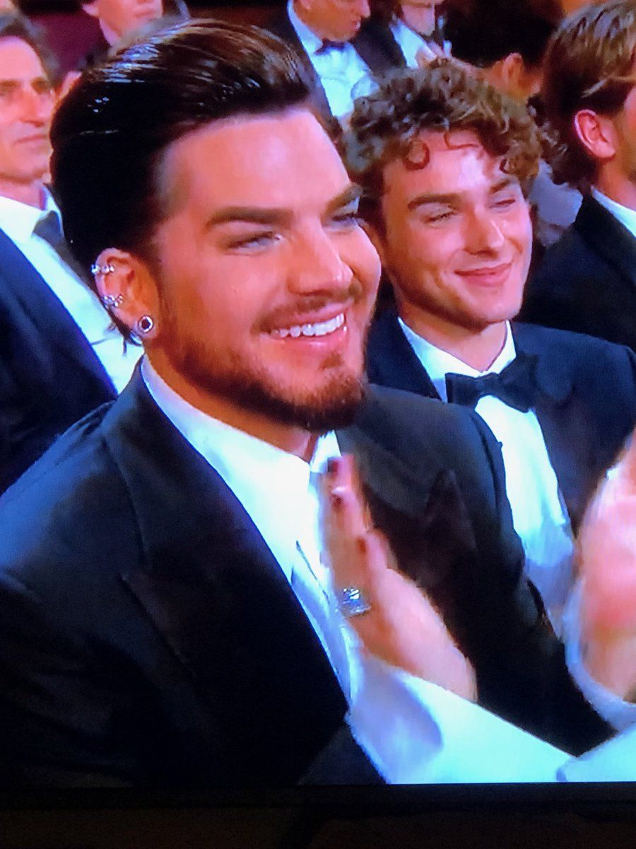 Adam Lambert W His New Beau Javi At The Oscars 2019 Adam Lambert Boyfriend Adam Lambert American Singers