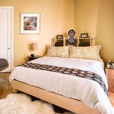 Corner Bed Bedroom Arrangement Bed In Corner Sleeping Room Design