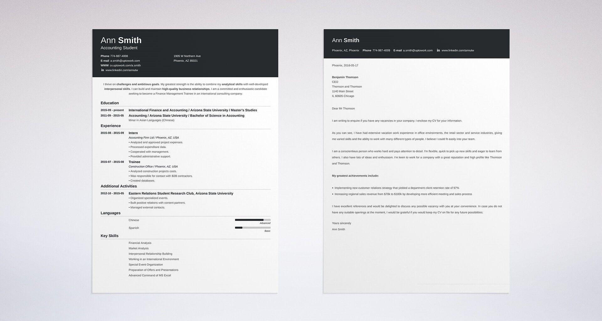 Cv Template Zety Cover Letter Tips Cover Letter For Resume