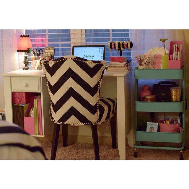 cortneydryden's photo on Instagram cart e Girls room