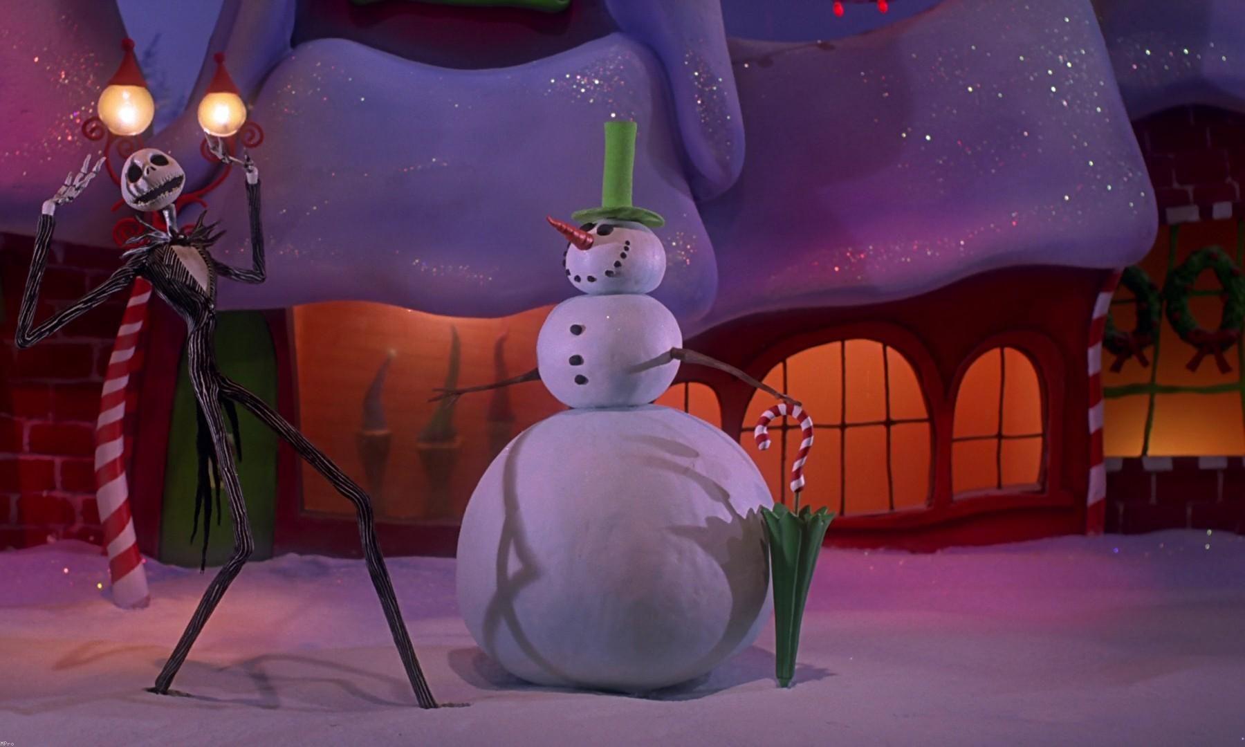 7 Awesome Alternative Xmas Films Nightmare Before Christmas Painajainen Ennen Joulua Joulu