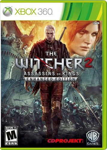 The Witcher 2 Assassins Of Kings Enhanced Edition For Xbox 360 39 99 At Gamedealsrus Com The Witcher Witcher 2 Xbox 360