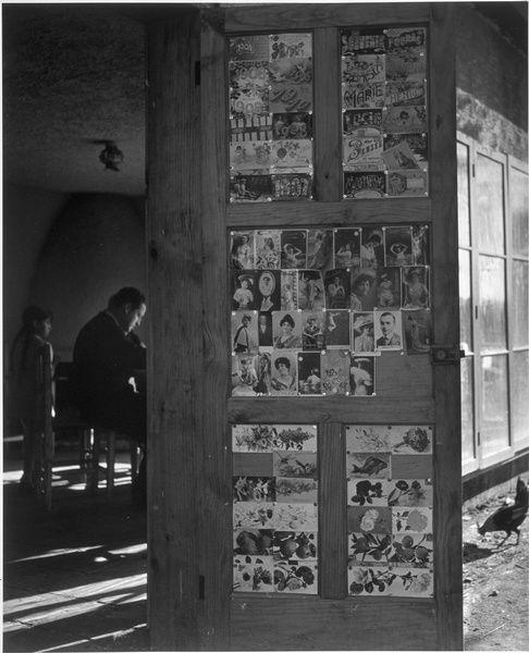Pablo Neruda dans sa maison de campagne près de Santiago, 1944--Gisèle Freund